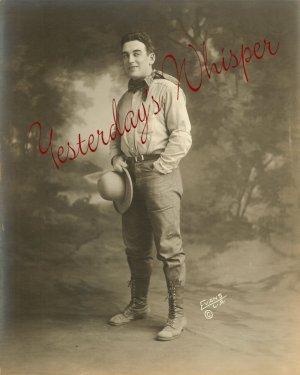 William DUNCAN Silent ERA Cowboy ORG DW Evans LA PHOTO