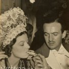 Vintage Myrna Loy Vintage Photo Smoking David Nivens