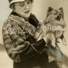 Gibson GIRL Jobyna HOWLAND Fur POMERANIAN ORG DW PHOTO