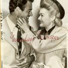 Gilbert ROLAND Constance BENNETT Wed ORG oversize PHOTO
