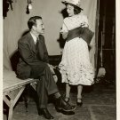 Lew AYRES Jane WYMAN Set Org Jack WOODS PHOTO F550
