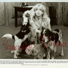 Goldie HAWN Dogs SEEMS LIKE OLD TIMES ORG PHOTO i90