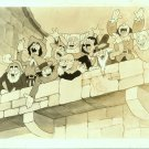 SILLY SYMPHONY~DISNEY~THE PIED PIPER~ANIMATION PHOTO