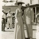 Jeanne Crain Universal Studios Western Set Candid Photo