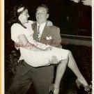 Mike MAZURKI Jeannette BRIGGS ORG Candid  PHOTO H425