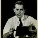 Ned CALMER 1950's NEWS Report Org TV Promo PHOTO F52