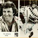 Phil Esposito Hand Autographed 1979-80 Publicity Photo