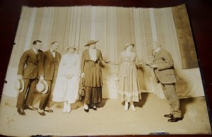 AUTHENTIC c.1916  Early Broadway White NY PHOTOGRAPH