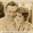 Vintage Irene Rich Frank Albertson Fox Movietone Photo