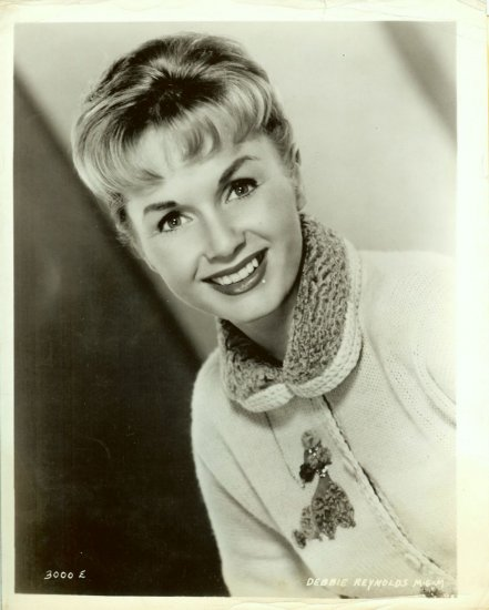 Debbie REYNOLDS Poodle SWEATER ORG MGM Promo PHOTO F98