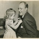 Kay KYSER Little GIRL ORG CANDID Publicity PHOTO F171