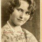 Lois MORAN Org Silent Era Actress FAN PHOTO F910