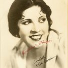 Olive BORDEN Org Silent Era FAN PHOTO F675