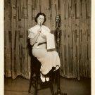 Honey DEAN Blues SINGER NBC Old RADIO Org PHOTO F494