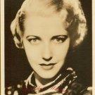 UNKNOWN Actress Org Silent Era FAN PHOTO F885