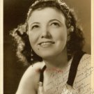 UNKNOWN Countess Santelli AUTOGRAPED DW Org PHOTO F847