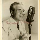 UNKNOWN CBS Announcer SINGER Radio Org DW PHOTO G296