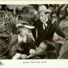 William HOLDEN Eleanor PARKER Western TV R PHOTO G391