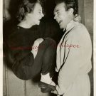 Joan GREENWOOD Paddy RYAN ORG Candid PHOTO H49