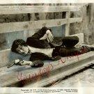 Alaine DELON Scorpio ORG Movie B/W STILL PHOTO i196