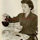 Nancy DAVIS Very YOUNG Candid COFFEE ORG PHOTO H814