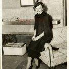 Nancy CARROLL Feathered Hat ORG PRESS PHOTO i168