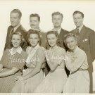 Priscilla LANE Jefrey LYNN Gale PAGE Vintage PHOTO J608