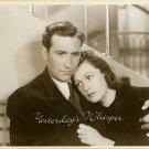 Jeffrey LYNN Geraldine FITZGERALD Vintage Movie PHOTO