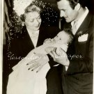 Constance BENNETT Gilbert ROLAND Baby ORG Press PHOTO