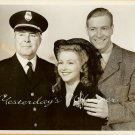 Julie BISHOP Richard TRAVIS Escape CRIME Vintage PHOTO