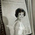 1960s Vintage Photograph Cute Pixie Deborah Walley