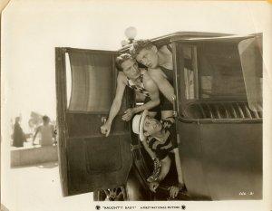 Benny Rubin Andy Devine Naughty Baby Original Photo