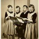 Bill Dana Singing KANE Triplets 1963 TV Promo Photo