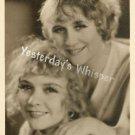 Duncan Sisters Original Fan Photo & MGM Studio Envelope