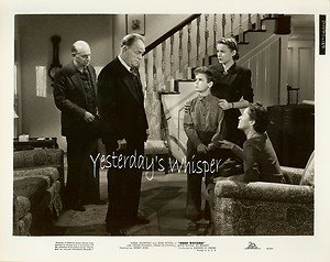 Child Star Dean STOCKWELL Jean PETERS Deep Waters Original c.1948 Movie Photo