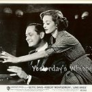 Bette DAVIS Robert MONTGOMERY June BRIDE Original c.1948 Movie Still Photo