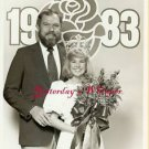 Merlin Olsen Tournament of Roses Queen 1982 TV Photo