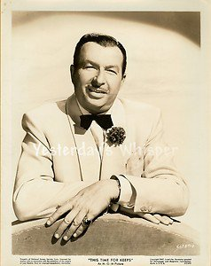 Xavier CUGAT This Time for Keeps Original 1947 MGM Publicity Closeup Movie Photo