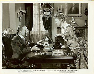 Irene DUNNE William POWELL CURTIZ Life with FATHER Original 1947 Movie Photo