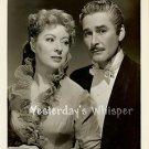 RARE Greer GARSON Dashing ERROL FLYNN Original Glamour PORTRAIT 1949 Movie Photo