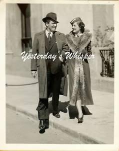 Myrna Loy Spencer Tracy Whipsaw Original 1935 B&W Photo
