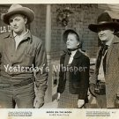 Robert MITCHUM Western Swagger Barbara Bel GEDDES Original 1949 RKO Radio Photo