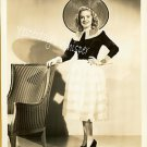 Alice FAYE Original Old HOLLYWOOD c.1930's Fashion Publicity Photos