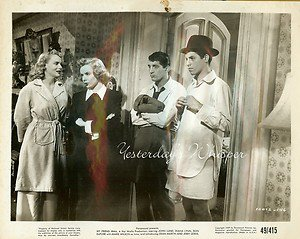 JERRY LEWIS Dean MARTIN Marie WILSON My Friend IRMA Original 1949 Movie Photo