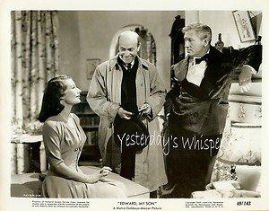 Leureen MacGrath Spencer TRACY Edward My Son ORIGINAL 1949 Movie Photo