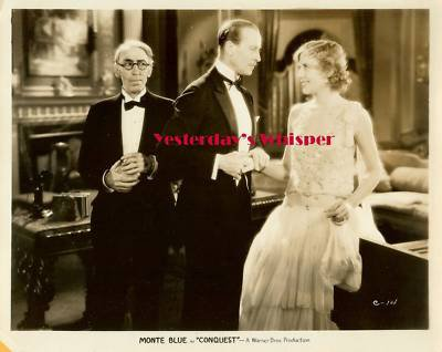 Authentic Lois Wilson Tully Marshall Conquest Photo