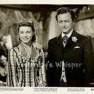 RARE Janet LEIGH Robert YOUNG That FORSYTE WOMAN Original 1949 Movie Photo