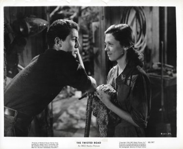 Cathy O'DONNELL Farley GRANGER They LIVE By NIGHT Original 1948 Movie Photo