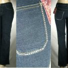 Annie - Missy 5 Pocket Jeans with Acrylic Stone Rear Pocket Trim