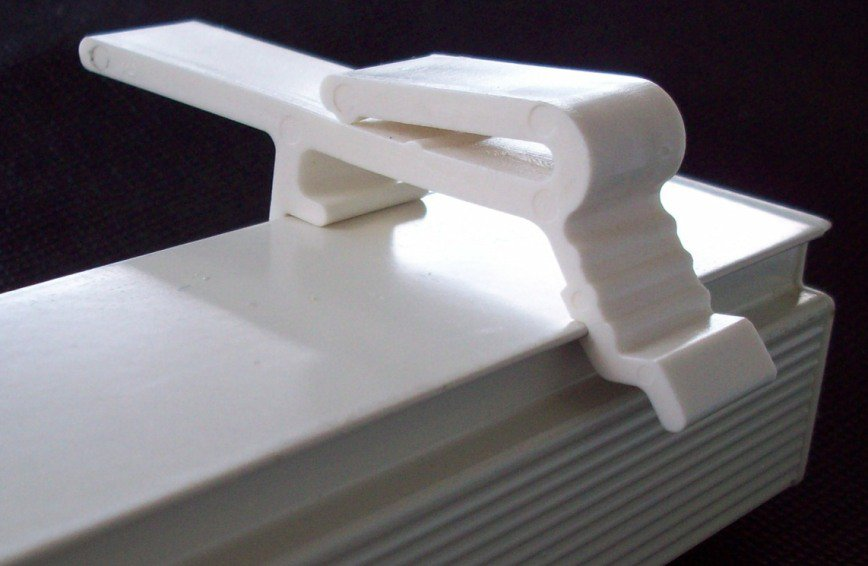 Vertical Blind Valance Clip Holder Bracket